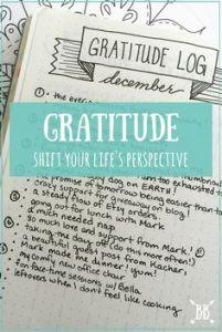 gratitude log
